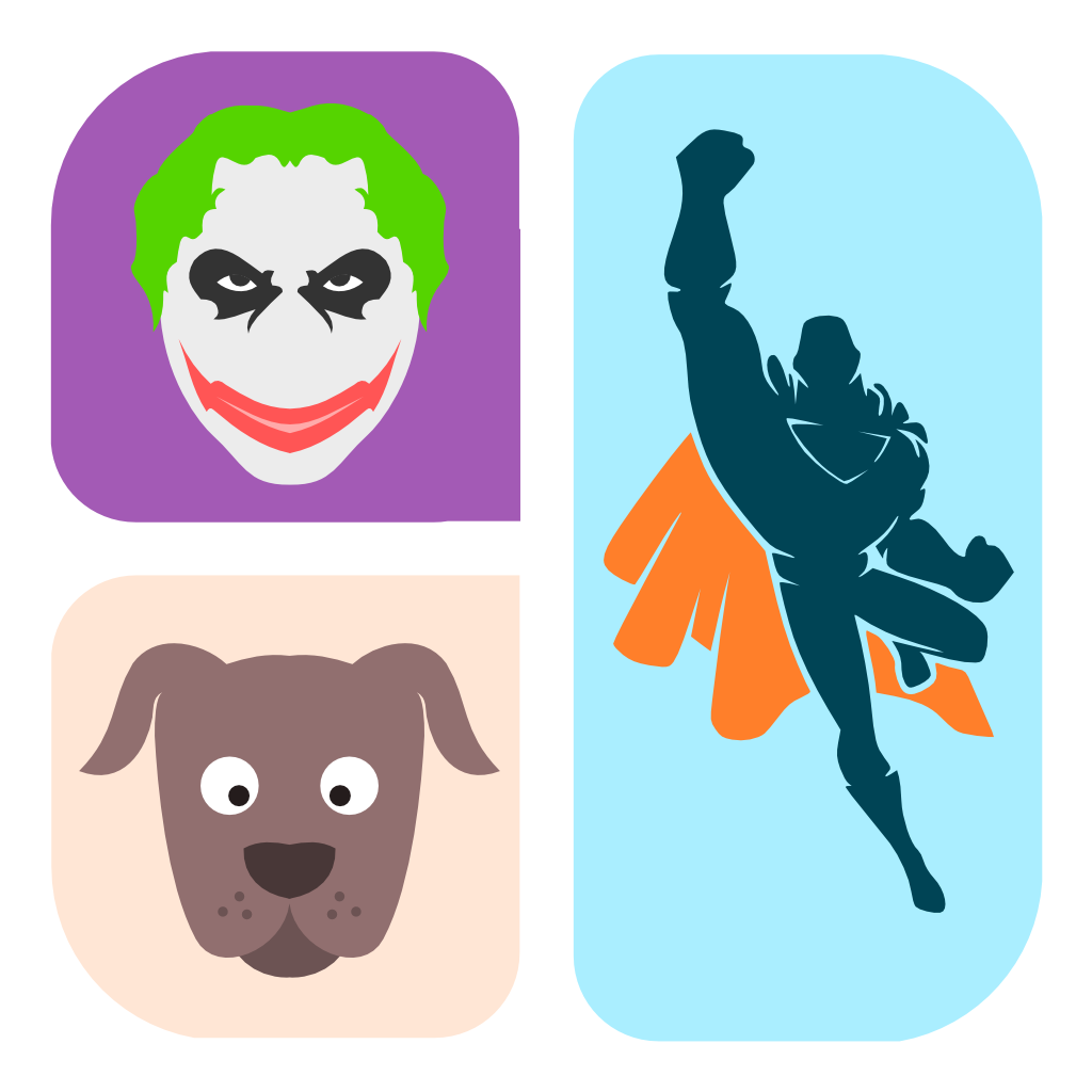 Icon Character Quiz - Can you guess the cartoon logo characters?